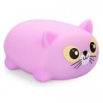 Игрушка Happy Baby котик Softamp;Joy 330374 Фиолетовый