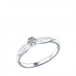 Кольцо Sokolov 89010017-17, серебряный